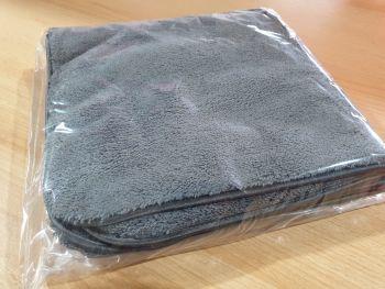 DMC 1000gsm 40cm x 40cm dense pile towel, silk banded.