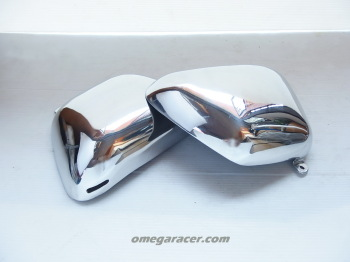 "Yamaha SR - Aluminium Side Covers ""BSA"""