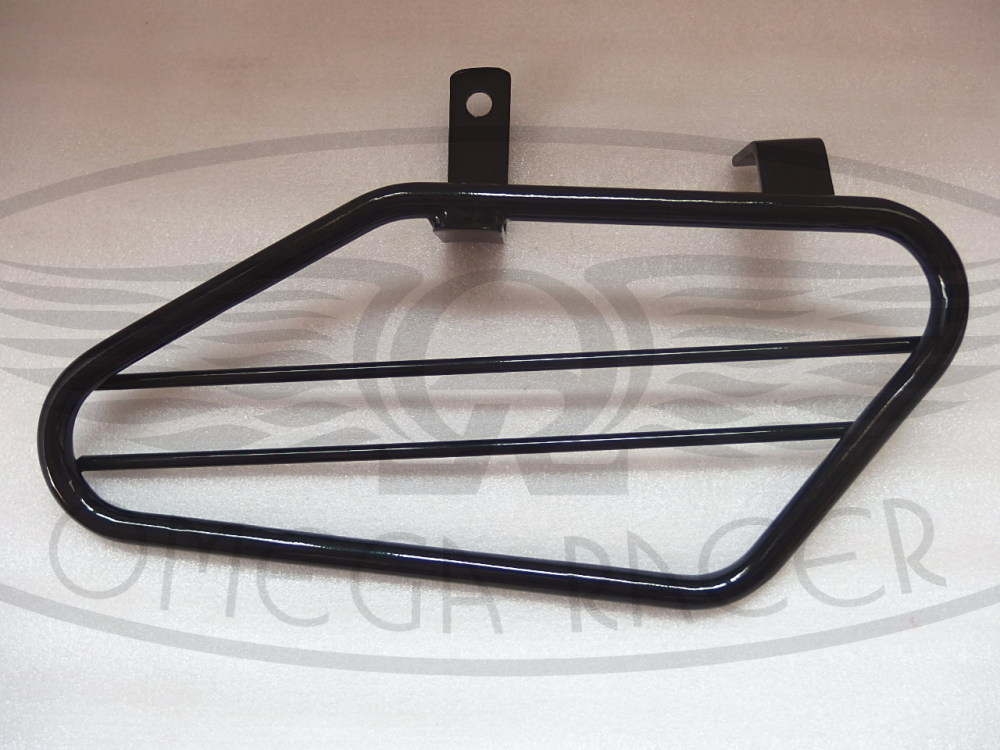 yamaha sr saddlebags rack black