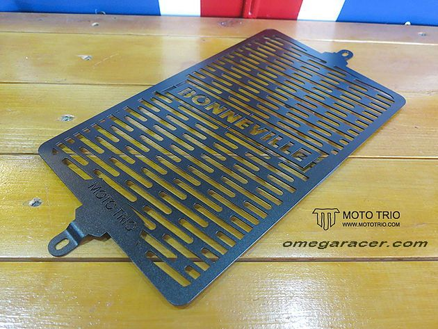 OmegaRacer Triumph MotoTrio oil cooler guard black (4)