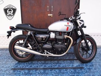 "Triumph T120 & Street Twin - JP Custom Seat ""Step Cafe"""