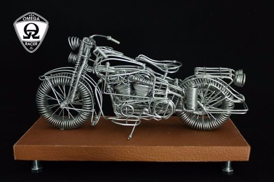 OmegaRacer Motorcycle wire model artwork (7)