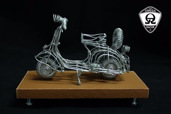 OmegaRacer Motorcycle wire model artwork (10)