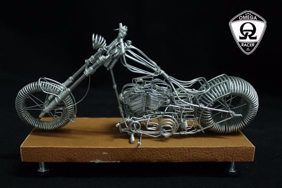 OmegaRacer Motorcycle wire model artwork (12)