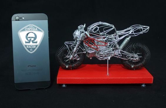OmegaRacer Motorcycle wire model artwork (17)