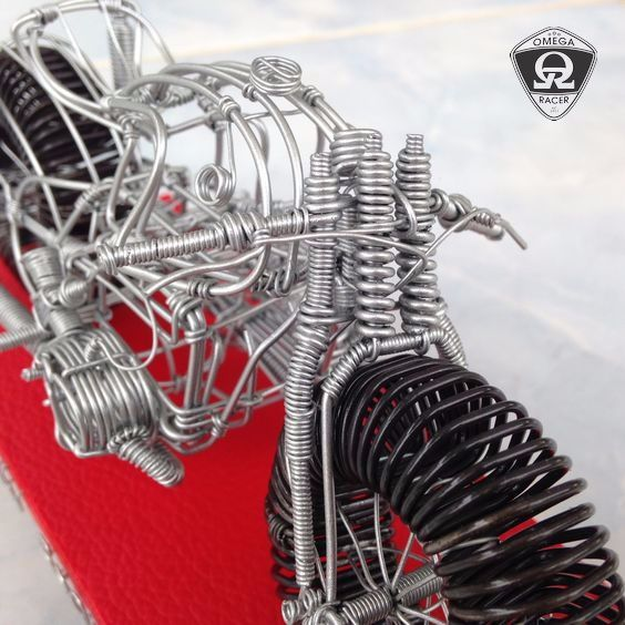 OmegaRacer Motorcycle wire model artwork (6)