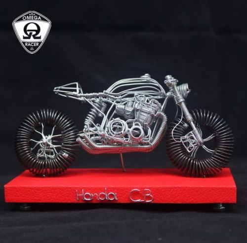 Motorcycle Wire Model