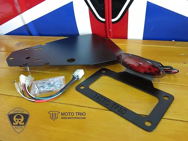 OmegaRacer MotoTrio fender eliminator kit Street Twin T120 (3)