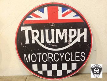 Retro Garage Sign - Triumph Signs