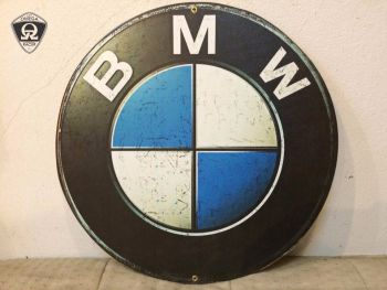 Retro Garage Sign - BMW Signs