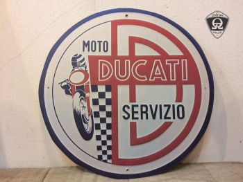 Retro Garage Sign - Ducati Signs