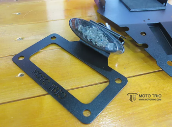 MotoTrio - TTR Fender Eliminator Kit - Smoke Lens