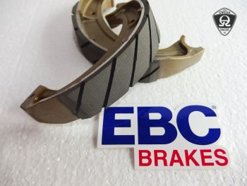 EBC - Yamaha SR Grooved Brake Shoes REAR