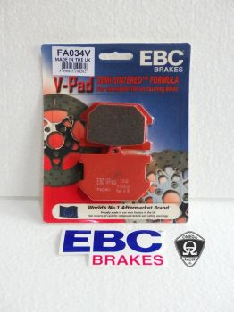 EBC - Yamaha SR500 Semi Sintered Brake Pads