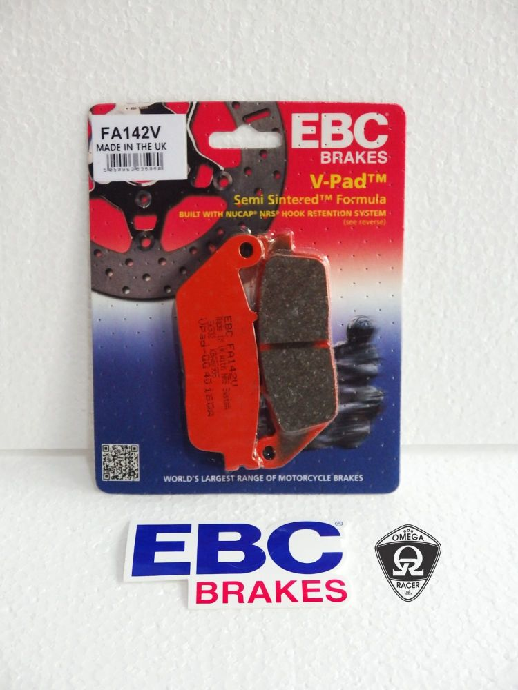 EBC - Triumph Semi Sintered Brake Pads