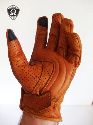 OmegaRacer Leather Summer gloves (3)