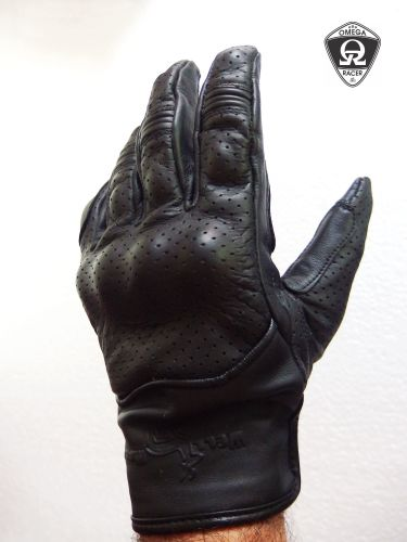 OmegaRacer Leather Summer gloves (9)