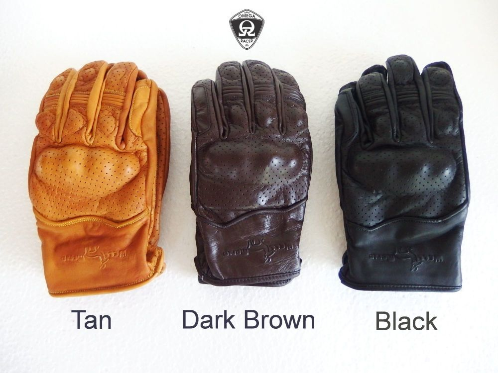 OmegaRacer Leather Summer gloves (14)
