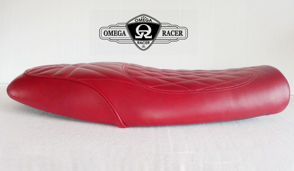 OmegaRacer Triumph Thruxton R Elite leather seat (1)