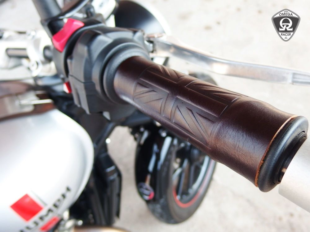 OmegaRacer Leather Grip Covers (13)
