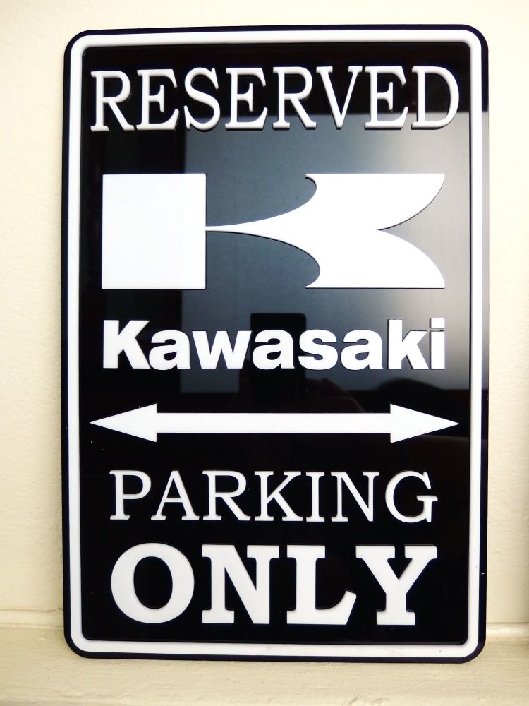 Kawasaki Only - Parking Sign