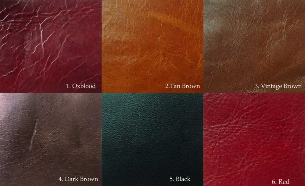 Leather Colors Samples