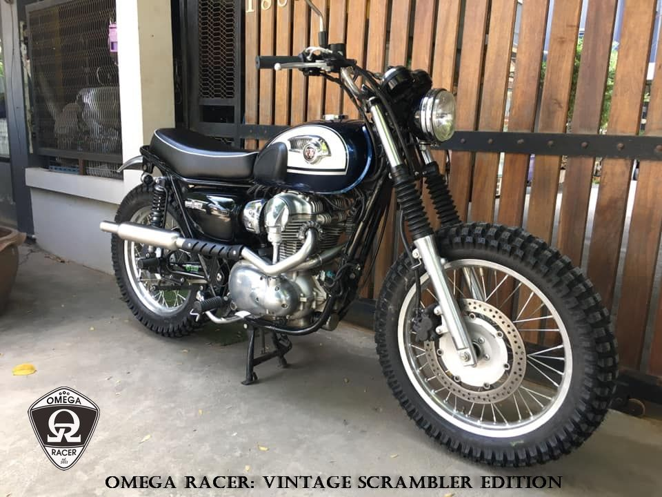 W650/W800 2-in-1 Scrambler Exhaust System