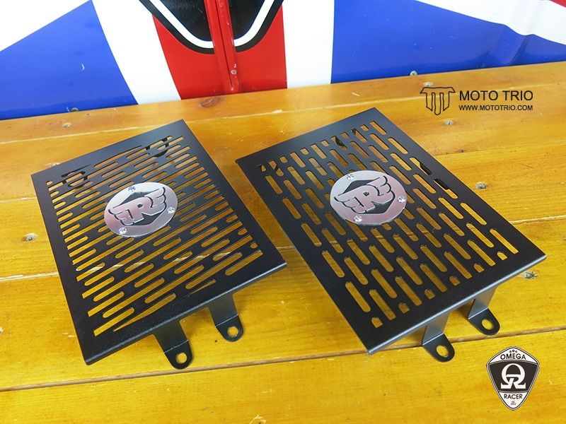 MotoTrio - Royal Enfield - Radiator Guard