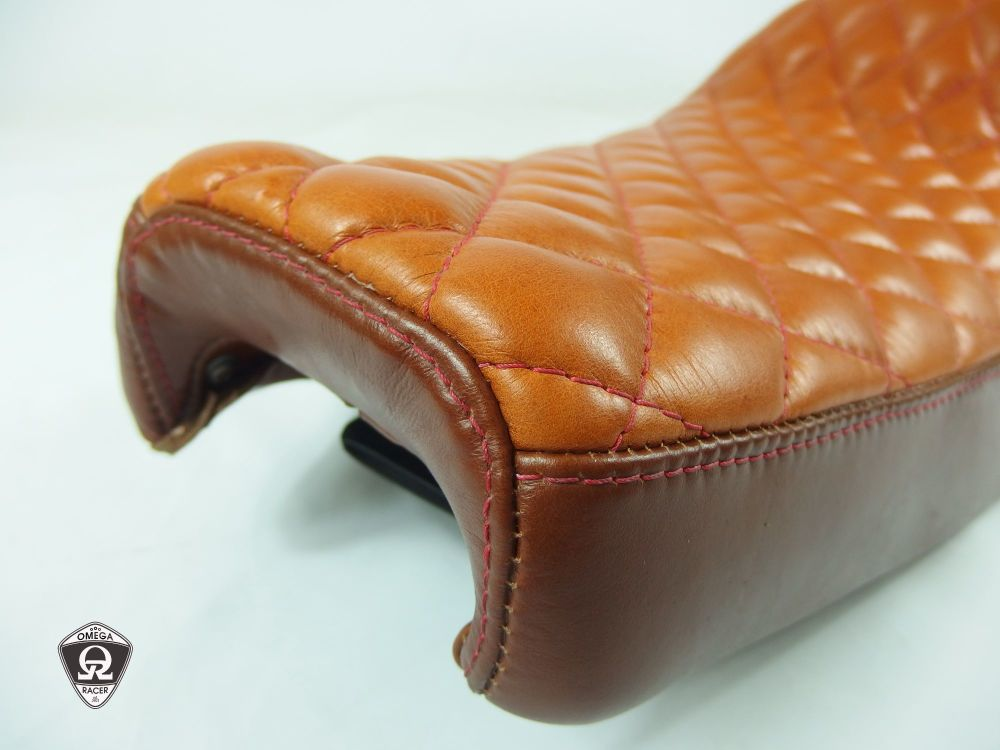 OmegaRacer Triumph real leather seat SOLO RACER (9)