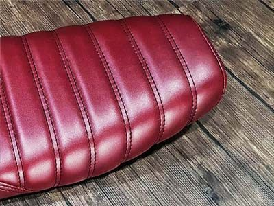 JP Seat Colours Ruby Red Glossy 8