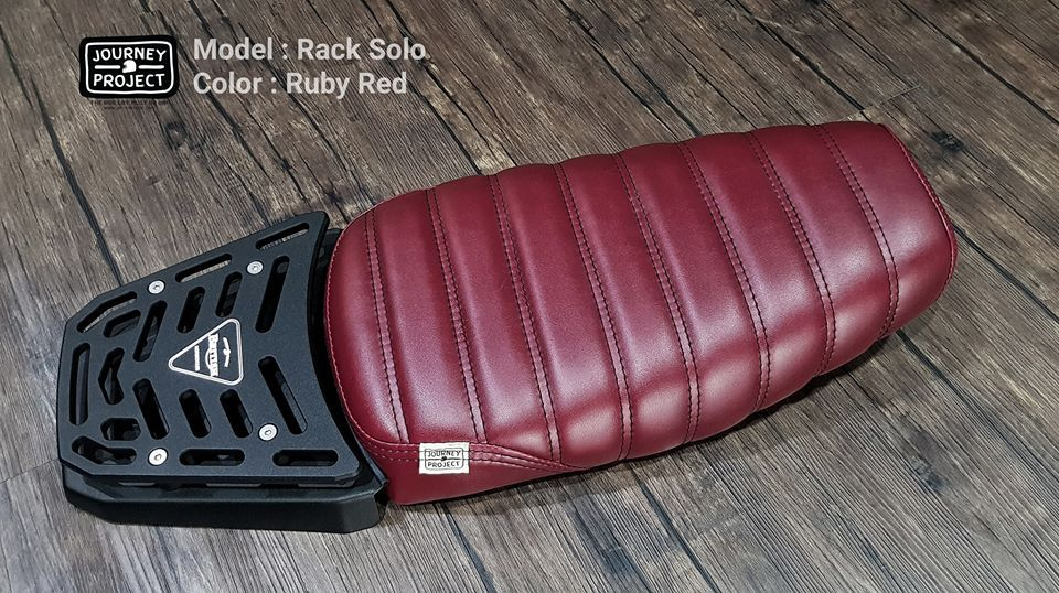 OmegaRacer Triumph Street Twin JP Solo Rack Ruby Red