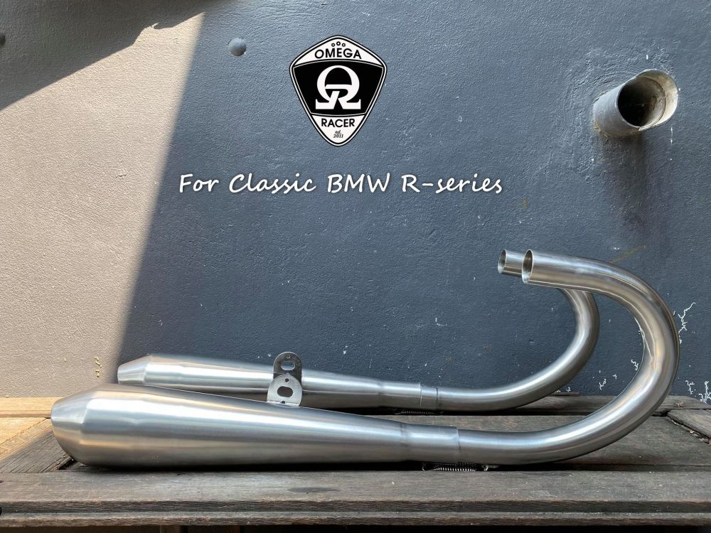 OmegaRacer BMW R series Full Exhaust System SHORTY (6)