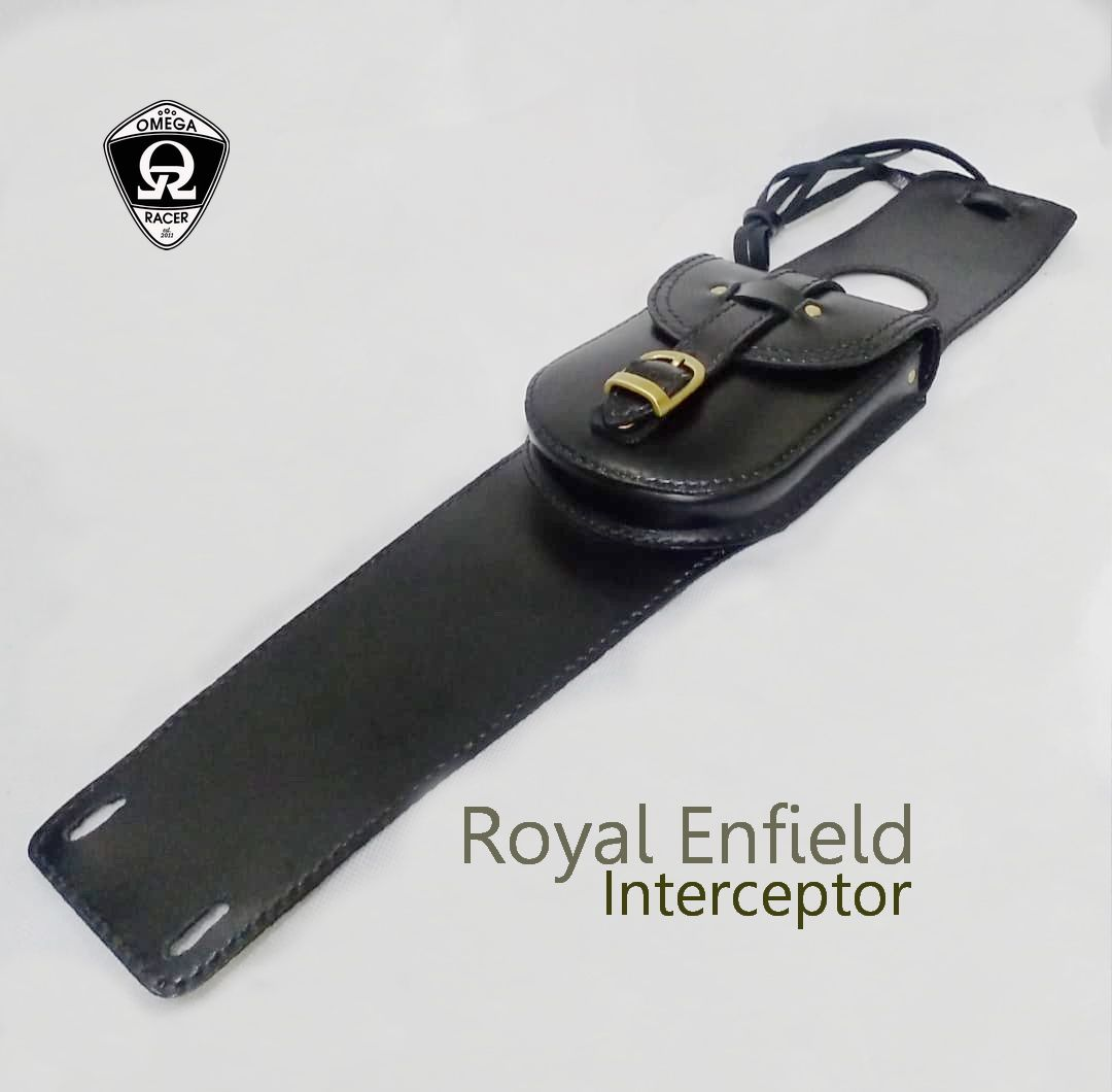 RE Interceptor - Genuine Leather Tank Strap and Pouch