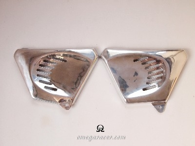 Yamaha SR - Aluminium Side Covers
