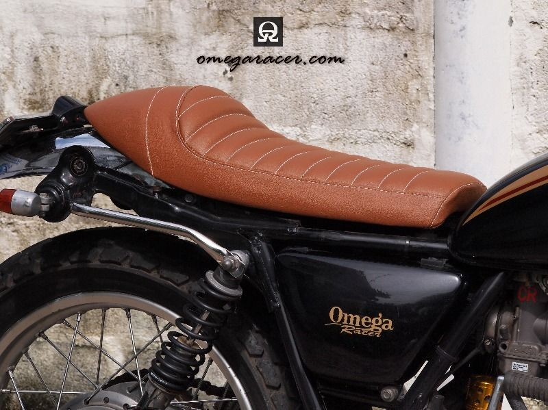 SR500 SR400 Brown Cafe Racer Seat