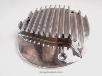 Honda CB750 Clutch Cover - Finned CNC Billet Alloy