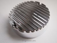 Honda CB750 Points Cover - Finned CNC Billet Alloy