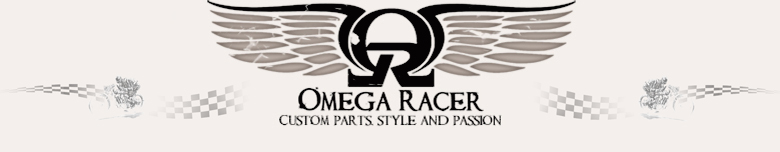 Omega Racer Parts, site logo.