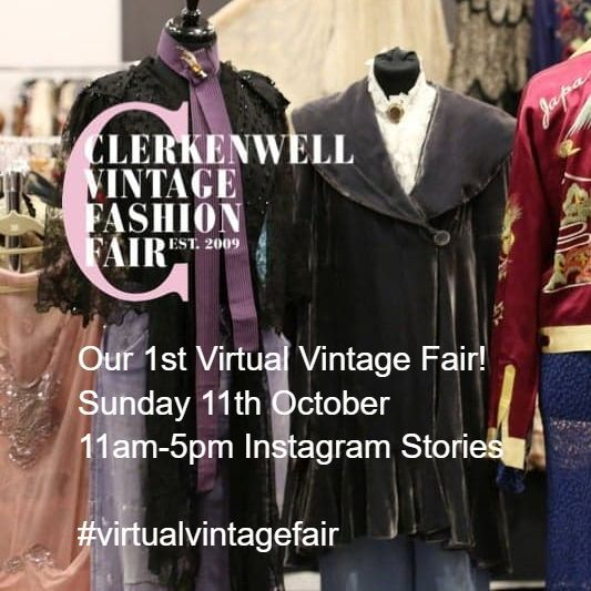 The Vintage Collections Virtual Fair Flyer