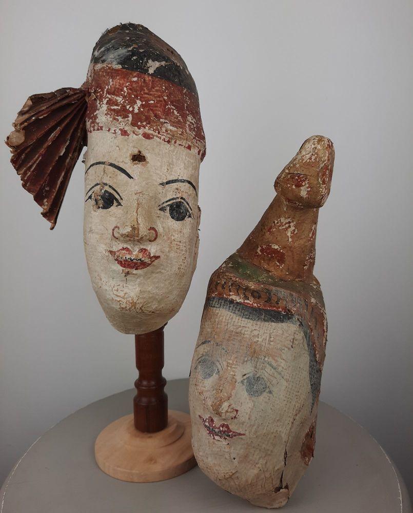 Antique Theatrical Masks