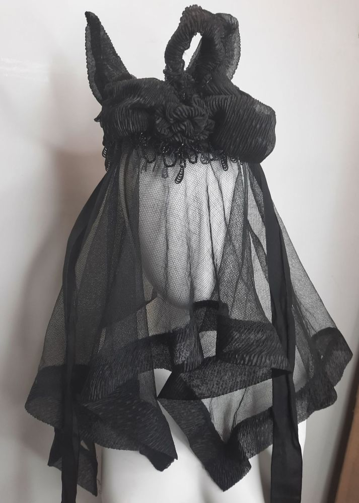 Victorian Hat and Matching Veil