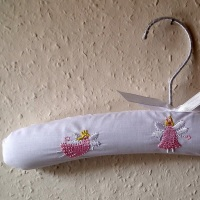 Child's Padded Coat Hangers - Fairy Design