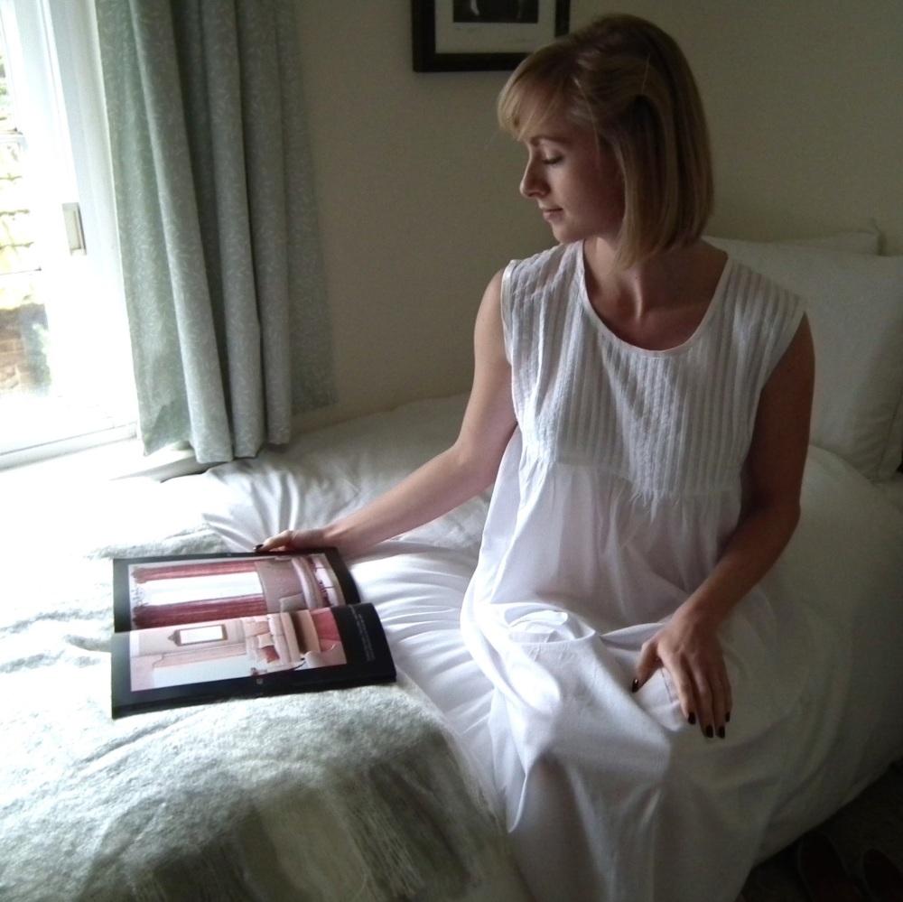 Sleeveless Cotton Nightdress - Lily