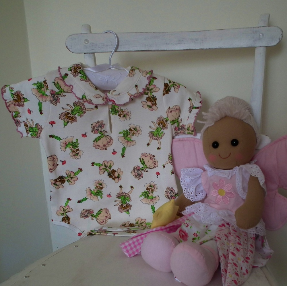 Babygro vest - Garden Fairy