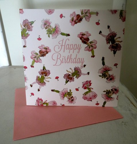 Birthday Card - Fairy