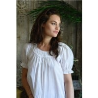 Short Sleeved Cotton Nightdress - Juliet