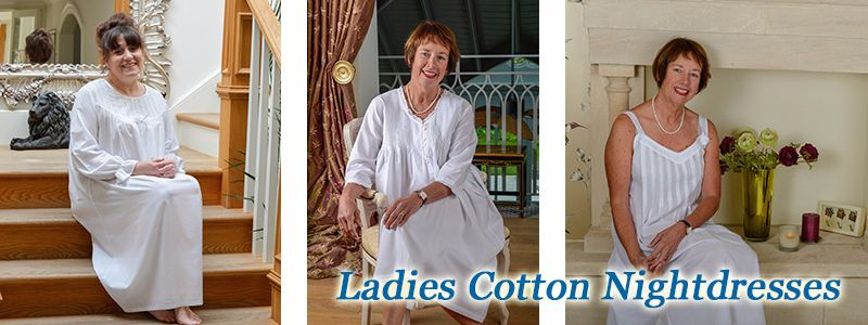 Ladies Cotton Nightdresses.
