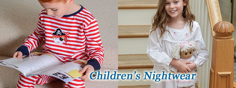 Lovely Children's nightdresses and pyjamas.