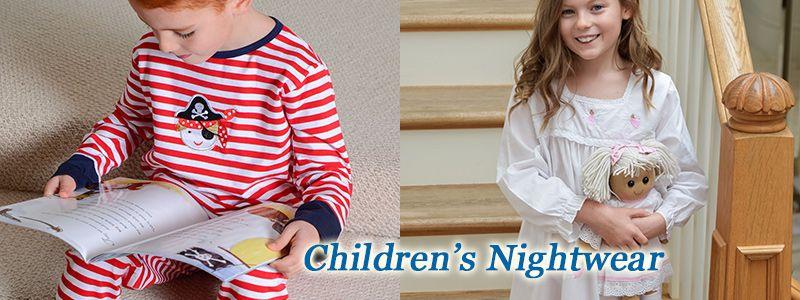 Lovely Children's nightdresses and pyjamas.