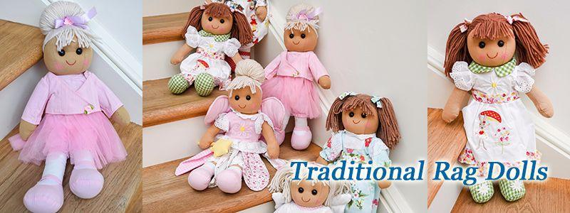 Beautiful Rag Dolls.